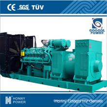 825kw/1030kVA Googol Brand Low Speed 50Hz 1000rpm Generator (HGM1125)