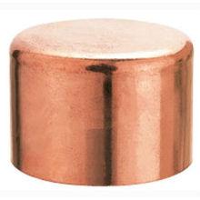 Tampão cobre cobre montagem