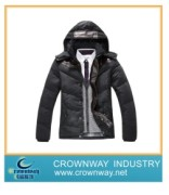 Men High Performance Winter Jacket Containing 70% Down and 30% Feather (CW-MPJ-71)