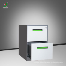 high quality office furniture metal 2 drawer filing cabinet