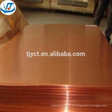 Bobinas de cobre vermelhas da tira da fita de cobre 99.9% C1200 C1220 C1200