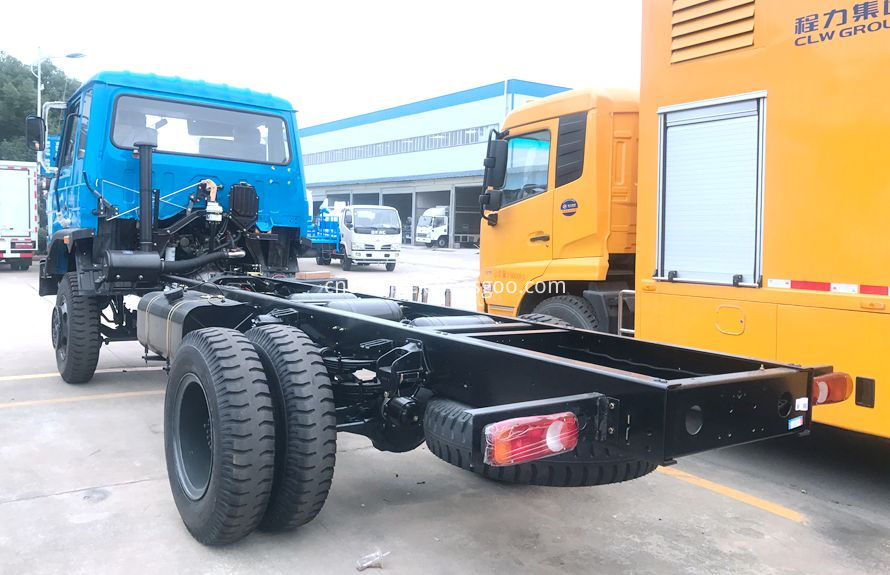 road wrecker truck chassis 2