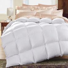 Высокое качество 100% хлопок роскошный Белый хлопок Детское одеяло