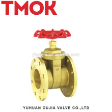 High quality brass flange connected gate valve