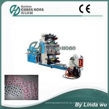 Máquina de impresión Flexographic del Serviette del color 4 (CH804-400)