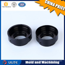 Black Anodized Wheel Adapter Spacer Fabrication Manufacturing Part