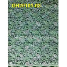 2014-2015 Fashion Pretty European Heavy Corded Flower Navy Lace Fabric