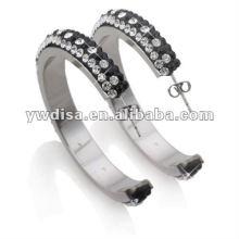 Venta caliente simple diseño multicolor pendiente de acero inoxidable con precio bajo