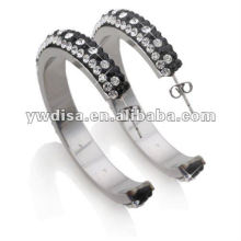 Hot Sale Simple Design Multicolor Stainless Steel Earring With Low Price
