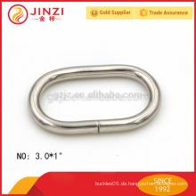 3mm Drahtdurchmesser ovaler Form Eisenring