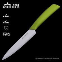Couteau de chef en céramique de cuisine de 6 po