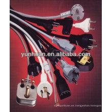 Venta de cables, montaje del alambre, cable split, splitter cables conectador partido, cable splitter, alargadores de alimentación.