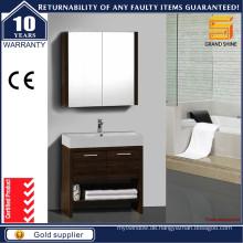 Neuer Entwurfs-Melamin-Speicher-Badezimmer-Eitelkeit mit zwei Türen