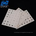 Plato de cerámica al2o3 resistente al desgaste