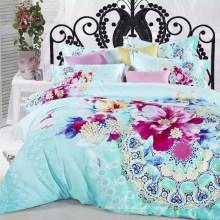 Folha de cama chinesa de estilo de pintura de paisagem, tudo disponível