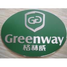 Unique Metal Logo Stickers