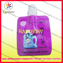 Custom Print Doypack Spout Pouch Packaging For Shampoo , Gas Barrier