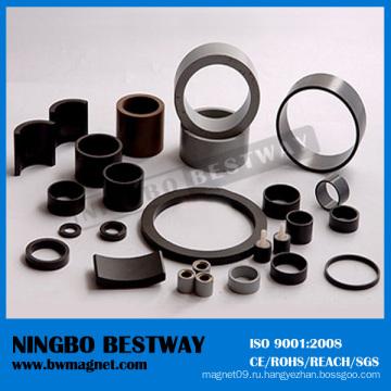 N38 Кольцо с черным кольцом NdFeB Магнит
