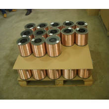 Kupferbeschichteter Draht für Spulennagel