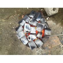 Carbón vegetal de la briqueta de serrín de Vetnam