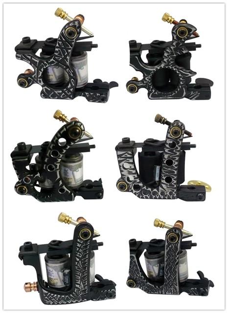 New Style 10 Wraps Professional Tattoo Machine Tattoo Gun Y Series