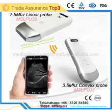 2016 hottest selling ultrasound transducer for iphone/ipad/smart phone