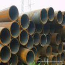 Tuyau d'acier au carbone de qualité soudé-Premium pour l'industrie
