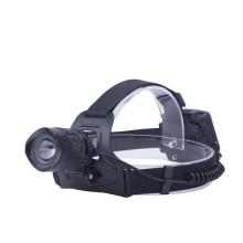 Lámpara de cabeza amplia con foco y luz de inundación ampliable