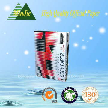 Dongguan Type High Quality A4 Copy Paper Manufacturers 80GSM/70GSM
