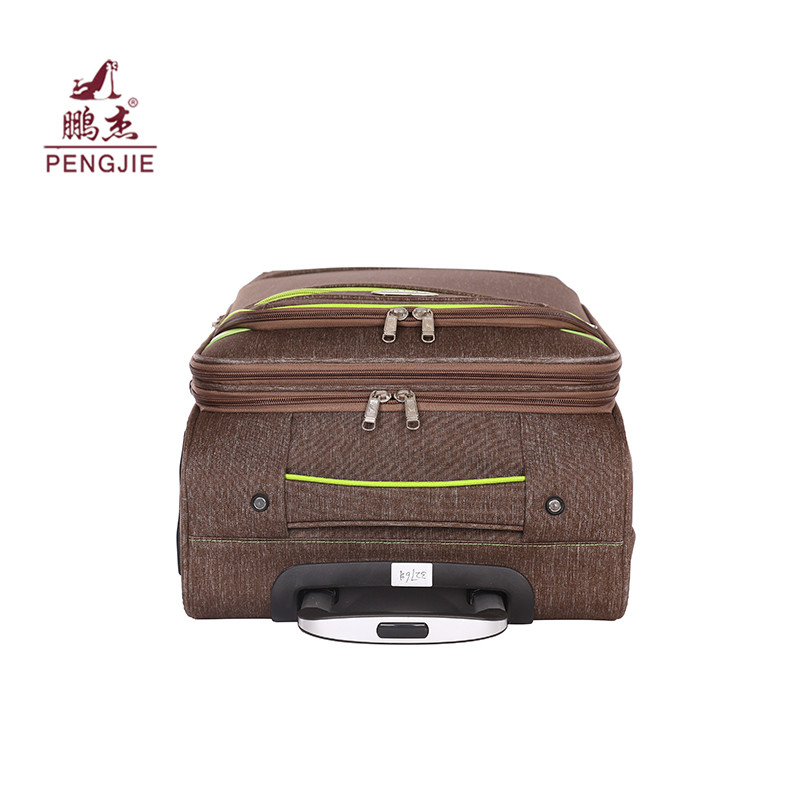 Polyester Fabric Rolling Travel Luggage