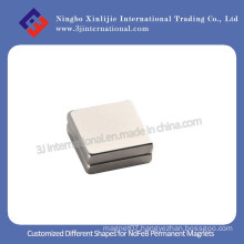 NdFeB Strong Permanent Magnets Square Shape for Speaker and Motors