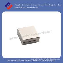 NdFeB Strong ímãs permanentes forma quadrada para alto-falante e motores