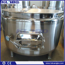 KUNBO Stainless Brewery Electrical Steam Jacket Mash Tun