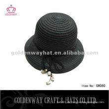 Beliebte Damen Stroh Bowler Hut GW060