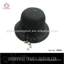 Popular Ladies Straw Bowler Hat GW060