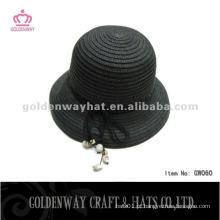 Chapéu popular do jogador da palha das senhoras GW060