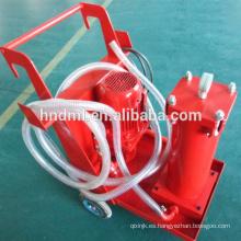 Carrito industrial del filtro del purificador de aceite del purificador de aceite portátil hecho por el fabricante de China