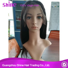 100 Human Hair Full Frontal Lace Wig Fashionable
