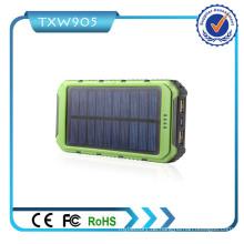 2016 Best Quality High Capacity Solar Power Bank 10000mAh Mobile Netzteil für Smart Phones