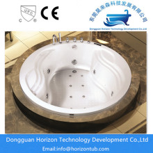 Hygienic Air Massage Oversized Circle Bathtub