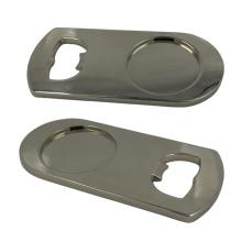 Angepasste Silber Metall Flaschenöffner