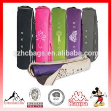 Bolsa grande de yoga Mat La bolsa original de yoga inteligente se adapta a la mayoría de las mantas 3 bolsillos de almacenamiento Easy Access Zipper