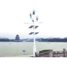Low RPM Magnetic Levitation Vertical Axis Wind Turbine For