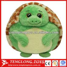 Venta caliente juguete relleno y lindo de la tortuga juguete de la felpa del bebé de la tortuga