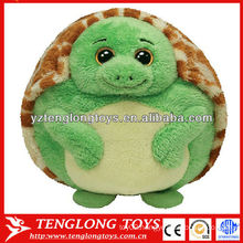 Hot selling stuffed and cute turtle toy baby plush ball toy