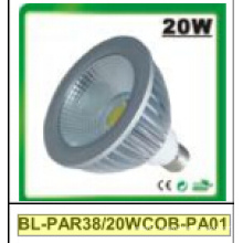 20W Dimmable/Non-Dimmable PAR38 COB LED Spotlight