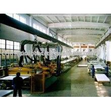 Extrusión de lámina de encofrado de construcción plástica línea/fabricación de línea de la máquina de la máquina/PE hoja
