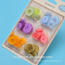 Yiwu Hot designer coat easy buttons with colorful designs