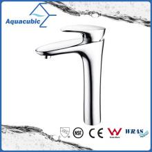 Grifo del lavabo del cuarto de baño de la manija sola del alto cuerpo (AF1048-6H)