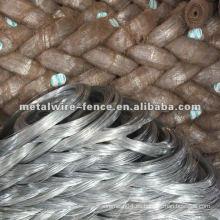 Fábrica de alambre de hierro de acero galvanizado